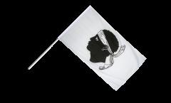 Bandiera da asta Francia Corsica - 60 x 90 cm
