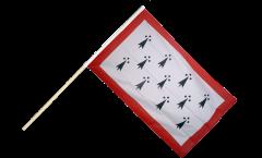 Bandiera da asta Francia Limosino - 60 x 90 cm