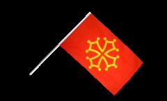 Bandiera da asta Francia Midi-Pirenei - 60 x 90 cm