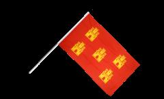 Bandiera da asta Francia Poitou Charentes - 60 x 90 cm