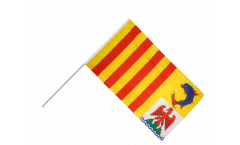 Bandiera da asta Francia Provenza-Alpi-Costa Azzurra - 60 x 90 cm