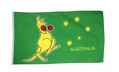 Bandiera Australia canguro