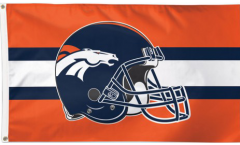 Bandiera Denver Broncos Casco