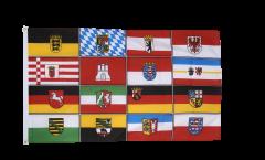 Bandiera Germania 16 regioni federali