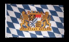 Bandiera Germania Baviera Freistaat Bayern