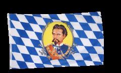 Bandiera Germania Baviera re Ludwig