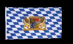 Bandiera Germania Baviera con leone