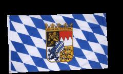 Bandiera Germania Baviera con stemmi