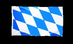 Bandiera Germania Baviera senza stemmi