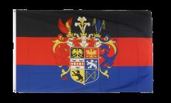Bandiera Germania Ostfriesland con stemmi