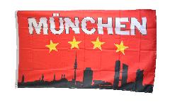 Bandiera Tifosi Bayern Monaco