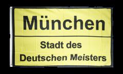 Bandiera Tifosi München Stadt des Deutschen Meisters