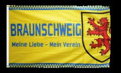 Bandiera Tifosi Braunschweig - Meine Liebe