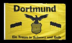 Bandiera Tifosi Dortmund - Traum in Schwarz und Gelb