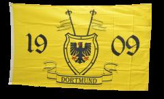 Bandiera Tifosi Dortmund 1909 con stemma