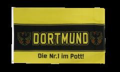 Bandiera Tifosi Dortmund aquila Nr.1 aus dem Pott
