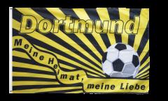 Bandiera Tifosi Dortmund - Meine Heimat