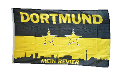 Bandiera Tifosi Dortmund Mein Revier