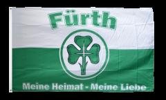 Bandiera Tifosi Fürth - Meine Heimat meine Liebe