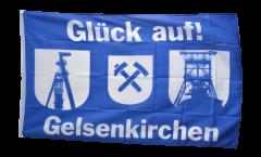 Bandiera Tifosi Gelsenkirchen Torre d'estrazione
