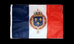 Bandiera Francia stemma regale