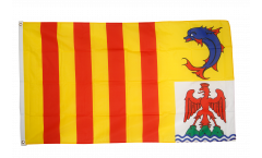 Bandiera Francia Provenza-Alpi-Costa Azzurra