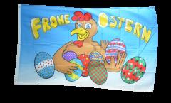 Bandiera Buona Pasqua uovi di Pasqua