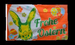 Bandiera Frohe Ostern Coniglietto di Pasqua