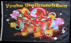 Bandiera Frohe Weihnachten scambio dei regaali