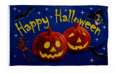 Bandiera Halloween Happy Halloween Zucca