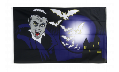 Bandiera Halloween Vampiro e pipistrelli