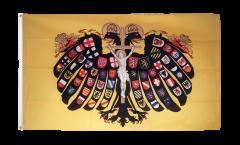 Bandiera Sacro Romano Impero Germanico Aquila bicipite