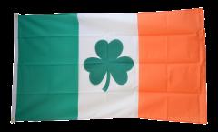 Bandiera Irlanda con Shamrock