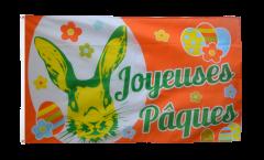 Bandiera Joyeuses Pâques - Buona Pasqua