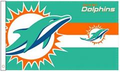 Bandiera Miami Dolphins Logo