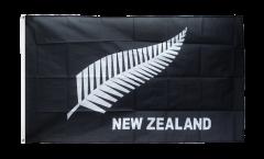 Bandiera Nuova Zelanda Piume All Blacks