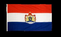 Bandiera Paesi Bassi con stemmi