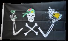 Bandiera Pirata con birra