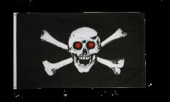 Bandiera Pirata con gli occhi rossi