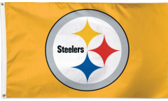 Bandiera Pittsburgh Steelers L'ORO