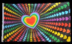 Bandiera Arcobaleno Amore