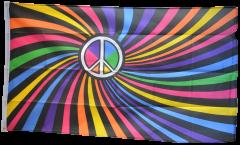 Bandiera Arcobaleno Peace Swirl