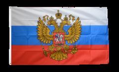Bandiera Russia con stemma