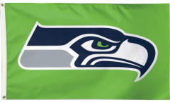 Bandiera Seattle Seahawks Verde
