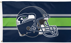Bandiera Seattle Seahawks Casco