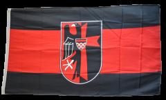 Bandiera Sudetenland con stemmi