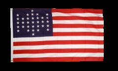 Bandiera USA 33 stelle