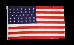 Bandiera USA 34 stelle