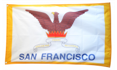 Bandiera USA City of San Francisco