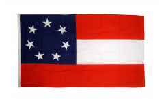 Bandiera USA stati del Sud Stars and Bars 1861